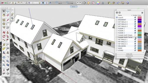 Проектирование крыши