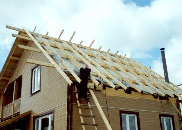 Как сделать новую крышу в частном доме