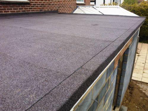 Ремонт крыши бетонного гаража