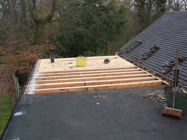Ремонт крыши гаража рубериодом