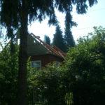 Объект №6. Новая крыша и обшивка виниловым блокхаусом