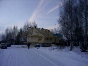 Объект №30. Финские домики с нуля