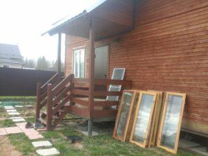 Объект № 43. Обшивка дома сайдингом с утеплением, монтаж окон ПВХ