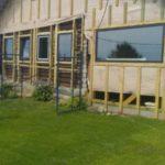 Объект № 44. Монтаж пристроек к старому дому, монтаж кровли и внешняя отделка