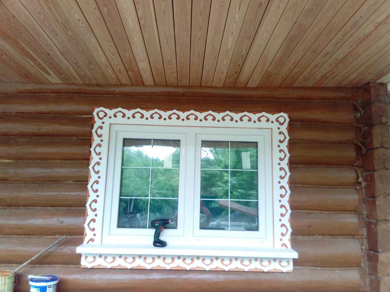 Объект № 54. Внутренняя отделка, внешняя отделка деревом