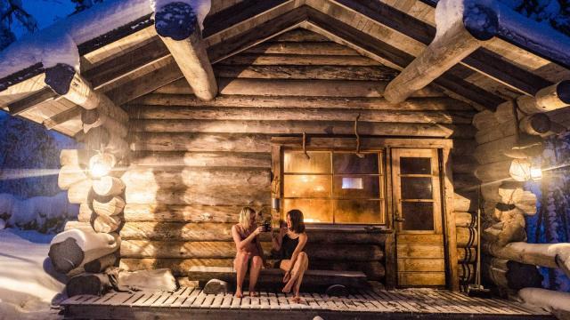 Дом-баня под ключ: живите с удовольствием!