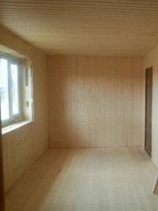 Внутренняя отделка в СНТ «Малиновка», фото