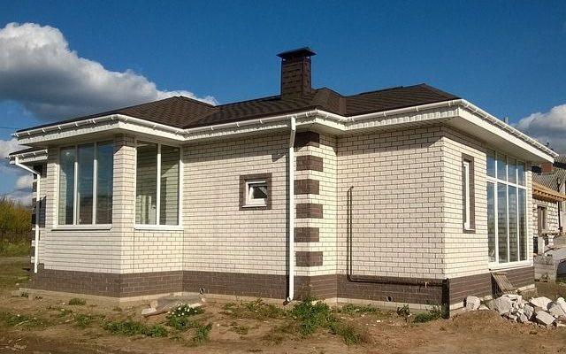 утепление кирпичного дома , фото