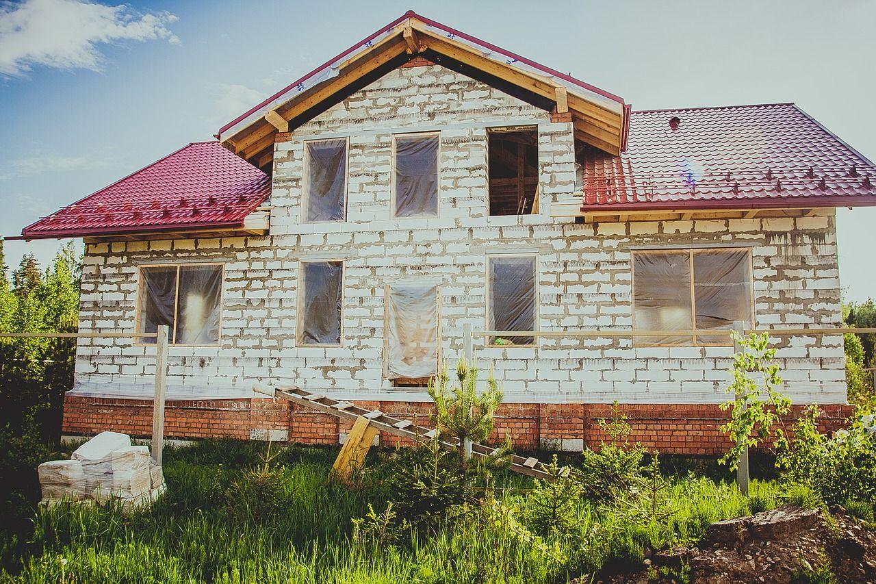 дом из газобетона, фото