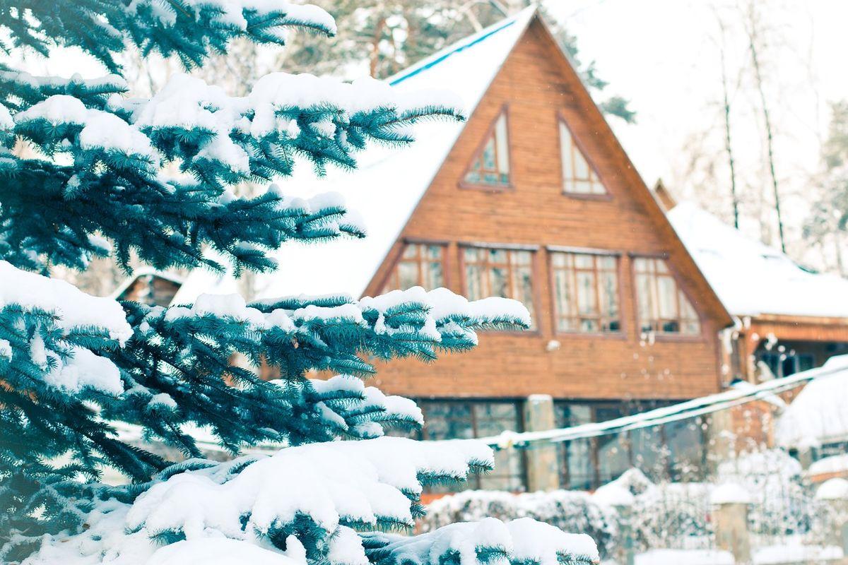 утепление дома из бруса, фото