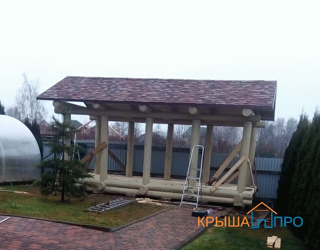 Монтаж будки для собаки в пгт Шаховская, фото