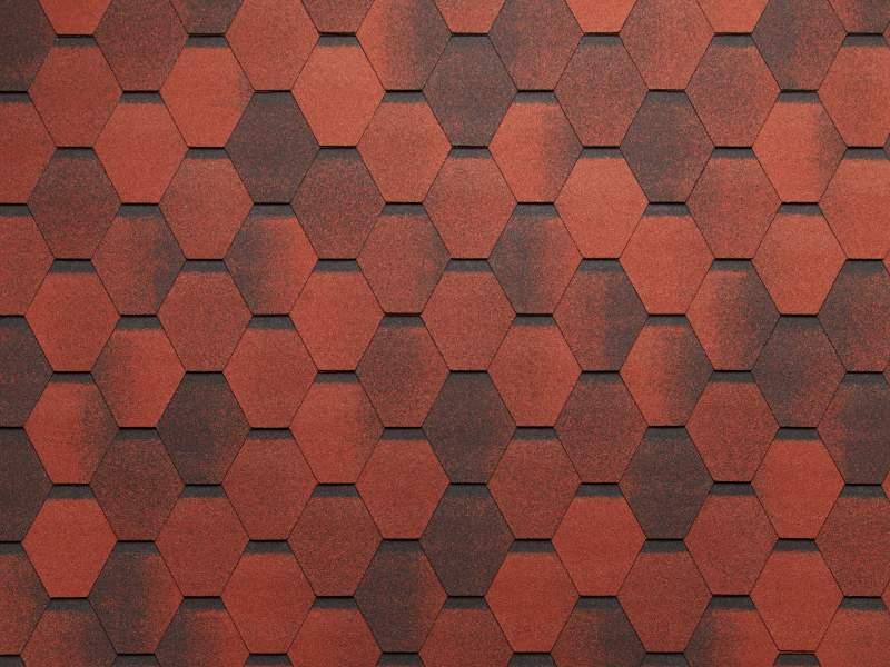 Мозаика Красный гранит
