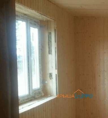 монтаж окна без откосов