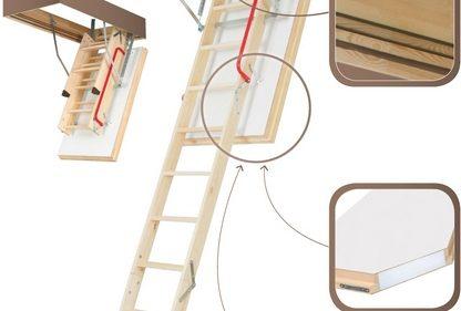 Монтаж чердачной лестницы Fakro