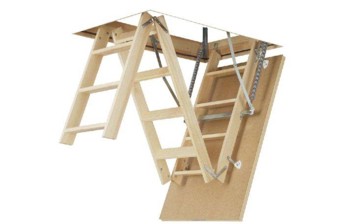 чердачные лестницы LWS Plus Fakro