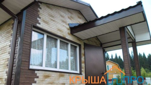 Монтаж цокольного сайдинга на фасад