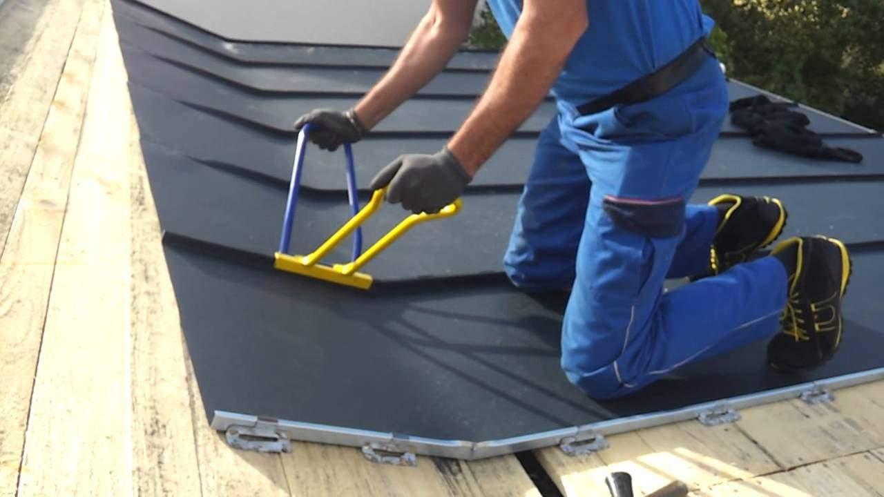 Инструменты для фальцевой кровли - что нужно для монтажа и ремонта?