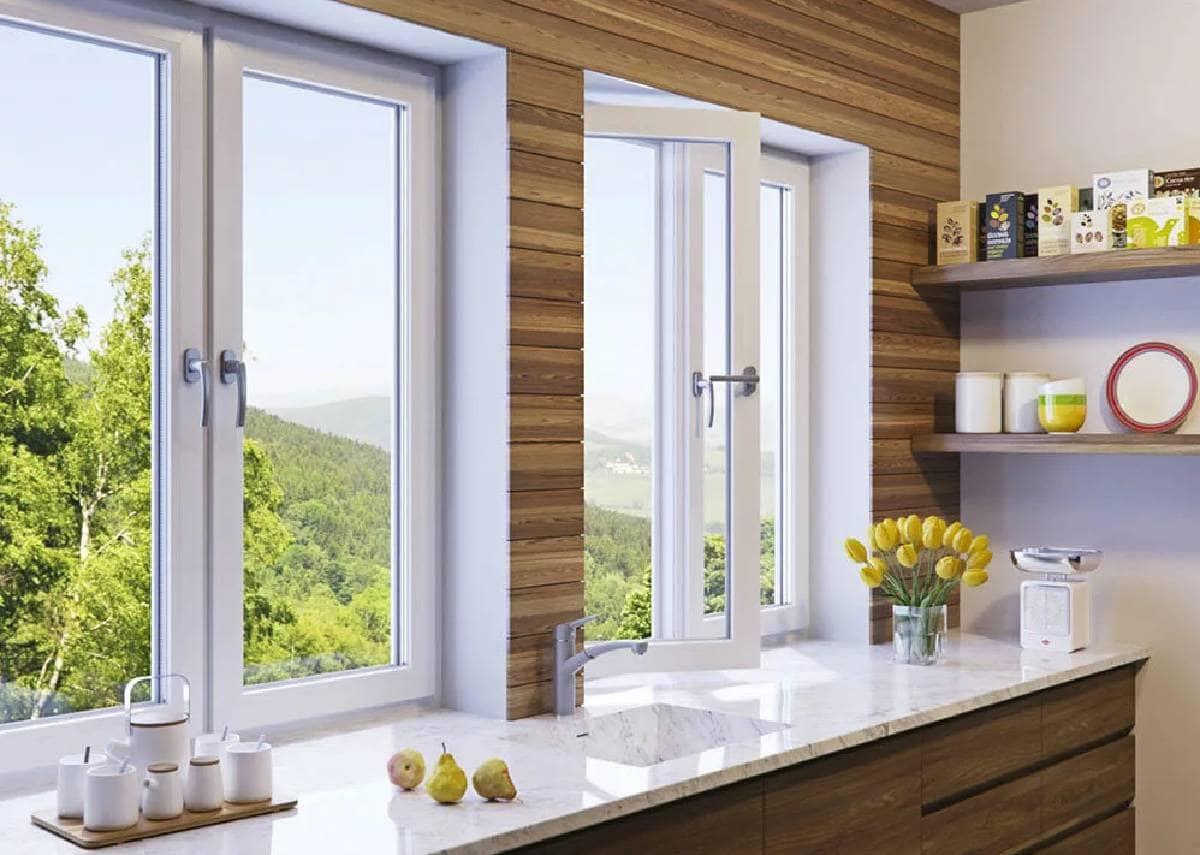 Скидки на окна ПВХ , Rehau, профиль 60 мм, 70 мм – 20%