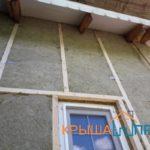 Монтаж сайдинга с утеплением в СНТ Роса, фото
